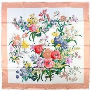 GUCCI *Like New* Silk Floral Scarf